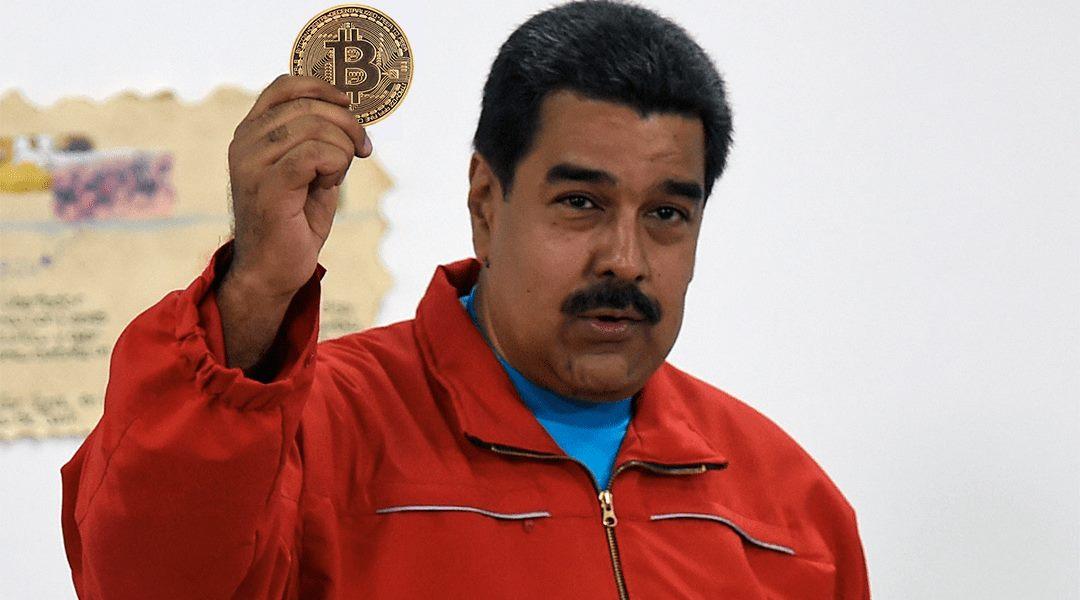 Nicolas Maduro, Président du Venezuela, lors de la présentation du Petro. Crédit : https://codigoespagueti.com